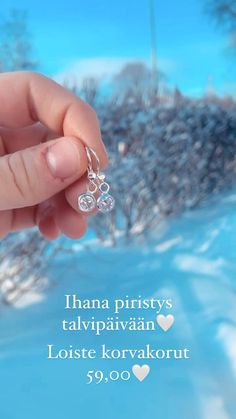 Piristä jokaista asuasi Loiste korvakoruillamme🤍 Valmistettu omalla verstaallamme Suomessa✨ Martini, Engagement Rings, Jewelry, Enagement Rings, Wedding Rings, Jewlery, Jewerly, Schmuck, Jewels