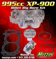 Polaris RZR XP 900 Muzzy 995cc Big Bore Kit