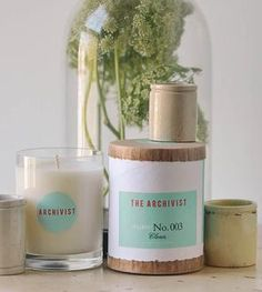 Natural Soy Candle - Clean