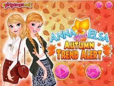 ANNA AND ELSA AUTUMN TREND ALERT  http://playfrozengames.com/frozen-games/anna-and-elsa-autumn-trend-alert