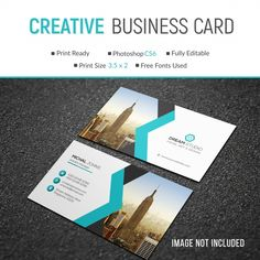 Business Card Mockup With Photo Of City Photoshop Fonts, Company Letterhead, Dream Studio, Business Card Mock Up, Free Prints, Print Templates, Mockup, City, Resume
