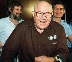 Demjanjuk during his trail in Israel on June 3. 1992 in Israel.