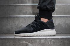 We can expect a flurry of new Tubular variations to arrive from adidas throughout 2016, including the on-hand Tubular Nova model. In January, the silhouette is scheduled to release in a black and cream color combination. The kicks note neoprene construction with a suede mudguard and matching side panels, as well as a heel strap …