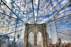 Brooklyn Bridge HDR (by silentandy)
