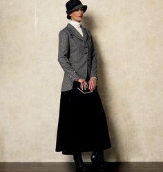 V8939 | Misses' Vest, Jacket, Top, Dress, Skirt and Pants | Vogue | Vogue Patterns