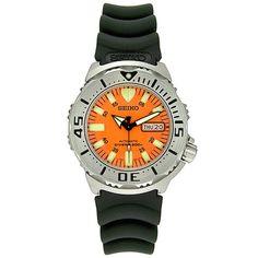 "Seiko Men's SKX781 ""Orange Monster"" Automatic Dive Watch Seiko,http://www.amazon.com/dp/B000EI859G/ref=cm_sw_r_pi_dp_3AAptb1PBK0TDC7E"