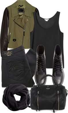 Untitled #832 by im-emma featuring cropped jeans