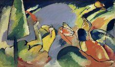 Vassily Kandinsky (1866 - 1944) Improvisation XIV 1910
