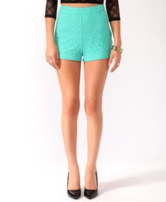 Love these LACE shorts!