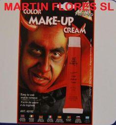Crema maquillaje roja.Más en www.martinfloressl.es