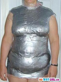 Fashion Fail: Duct Tape Dress