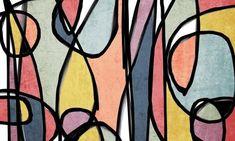 Vibrant Colorful Mid-Century Modern Colorful Canvas Art Print Mid Century Modern Canvas Art Print up to 72 by Irena Orlov Modern Canvas Art, Canvas Art Prints, Painting Prints, Fine Art Prints, Canvas Paintings, Large Artwork, Modern Artwork, Blue Artwork, Art Original
