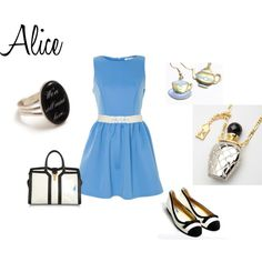 """""""Alice"""" by morganfitz on Polyvore"""