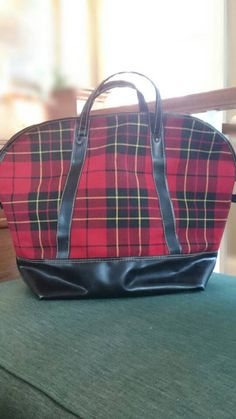 Check out this item in my Etsy shop https://www.etsy.com/listing/267001016/vintage-genuine-swag-bag-tartanbagcarry