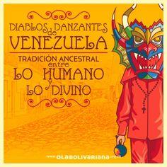 En Venezuela los Diablos Danzantes celebran Corpus Christi, el 24 de junio, danzando, pues.
