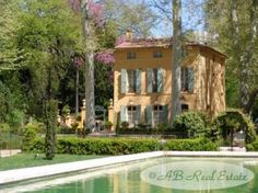 18th Century Maison de Maitre in Aix-en-Provence, France!