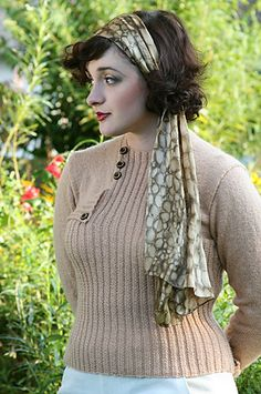 Ravelry: One Never Tires of Ribbing pattern by Susan Crawford
