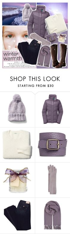 """""""Winter Warmth"""" by beograd-love ❤ liked on Polyvore featuring Gap, The North Face, Madewell, Bynd Artisan, Portolano, True Religion, BeckSöndergaard and Naturalizer"""