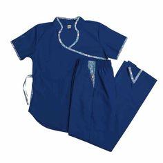 Jazmín poly azul marina - Oh Wear