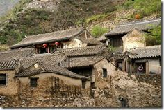 Visit ancient mountain village, Chuandixia Village built in the valley of Beijing.