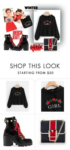 """1W 1W"" by hocko2 ❤ liked on Polyvore featuring Jennifer Lopez, Emma Watson, Gucci, Tommy Hilfiger and Bogner"