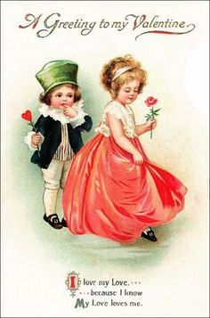 69 trendy baby first valentines day cards vintage Vintage Valentine Cards, Vintage Greeting Cards, Valentine Day Cards, Valentine Crafts, Clip Art Vintage, Vintage Images, Decoupage, Retro, Valentine's Day Printables