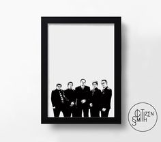 THE SOPRANOS - Family Portrait - Hand-Drawn Black & White Art Print/ TV Poster by CitizenSmithDesigns on Etsy https://www.etsy.com/uk/listing/454939554/the-sopranos-family-portrait-hand-drawn
