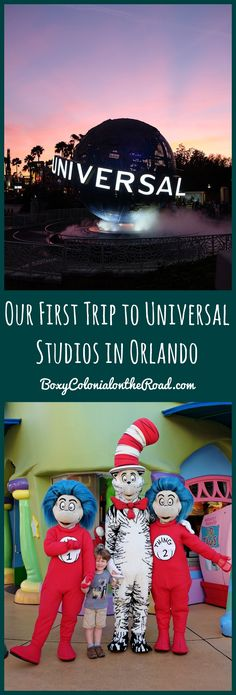 Tips and Impressions for a first trip to Universal Studios and Islands of Adventure in Orlando, Florida