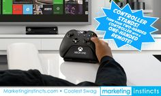 Xbox One Controller Stands! Turn your 2-handed controller into a 1-handed remote! Branded with your graphics. Marketing Instincts creates the coolest swag! Call us for your next project of branded merchandise! 951.587.2700 #xboxone #xboxonecontrollerstands #swag #coolestswag #marketinginstincts #...