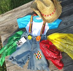Rodeo Clown Boys Rodeo Clown Costume Cowboy by MYSWEETCHICKAPEA