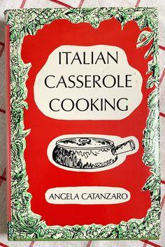 Italian Desserts, Italian Recipes, Italian Casserole, Croatian Cuisine, New Cookbooks, Etsy Shipping, I Shop, 1970s Kitchen, Cooking