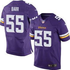 Nike Elite Anthony Barr Purple Men s Jersey - Minnesota Vikings  55 NFL Home 64e9b76bb1c