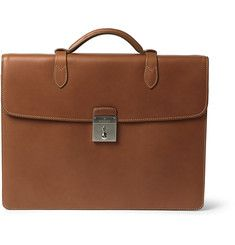 Mulberry Leather Briefcase