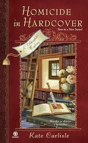 Bibliophile mystery series by Kate Carlisle