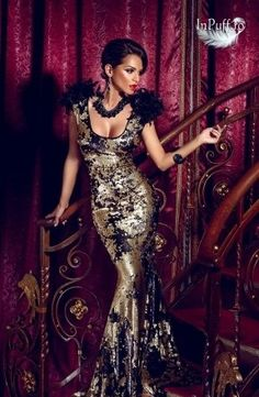 Rochie Atmosphere stil sirena paiete Beautiful Long Dresses, Glamorous Dresses, Beautiful Outfits, Nice Dresses, Glamour, Atmosphere Fashion, Vestidos Flapper, Lace Dress Styles, Dress Images