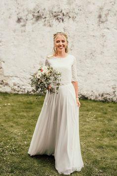 Outdoor Wedding: Konzept für eine Sommerhochzeit Girls Dresses, Flower Girl Dresses, Bridesmaid Dresses, Wedding Dresses, Boho Bride, Outdoor, Fashion, Marriage Anniversary, Dress Wedding