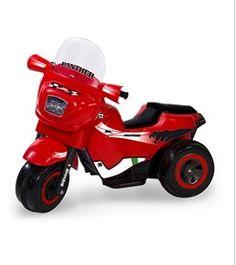 In offerta a € 130,90 triciclo elettrico Panther Red BIEMME GIOCHI, motore velocità 4km/hr, batteria a secco 1x6V, autonomia 1 ora. Caricabatteria da 6 Volts inclusa, acceleratore a freno unico pedale, fusibile di protezione motore. Luci e suoni, con il realistico rumore della sirena. Puoi trovarlo su http://qpoint.eu/prodotto/triciclo-elettrico-panther-red/