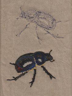 136 Meilleures Images Du Tableau Insectes Brodés Embroidered