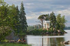 Парк Монрепо. Ленинградская область