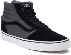477794b1592f Vans Ward Hi Men s Suede Skate Shoes Vans Shoes