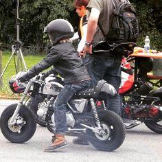 Mini Motorbike, Motorcycle Baby, Motorcycle Design, Custom Sportster, Harley Davidson Sportster, Pocket Bike, Pit Bike, Kids Ride On, Cool Motorcycles