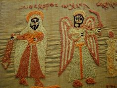 Russian coptic embroidery