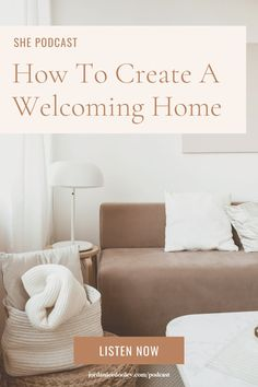 In today's episode, Jordan talks with author Myquillyn Smith, AKA The Nester, to talk about how to see your home's hidden potential and create beautiful, functional spaces that serve others - imperfections and all. #hosting #homemaking #functionalhome Hgtv Shows, Homemaking, Decorating Your Home, Beautiful Homes, Im Not Perfect, Home Improvement, Sweet Home, Author, Spaces