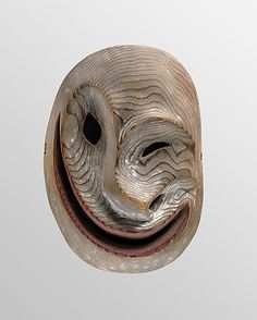 Face Mask  Date: late 19th century  Geography: United States, Alaska  Culture: Yup'ik  Medium: Wood, pigment