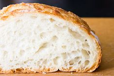 Minimum Effort, Maximum Awesome: No-knead Bread Good Food, Yummy Food, No Knead Bread, Daily Bread, Sweet Bread, Raisin, Bread Recipes, Yummy Recipes, Brot