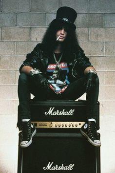 Memorabilia: Slash posters Slash #slash