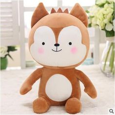 Descendants of the Sun Plush Toy Fox or Rabbit Camo Stuffed Doll Animal