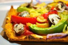 Süßkartoffel Pizza 500x332