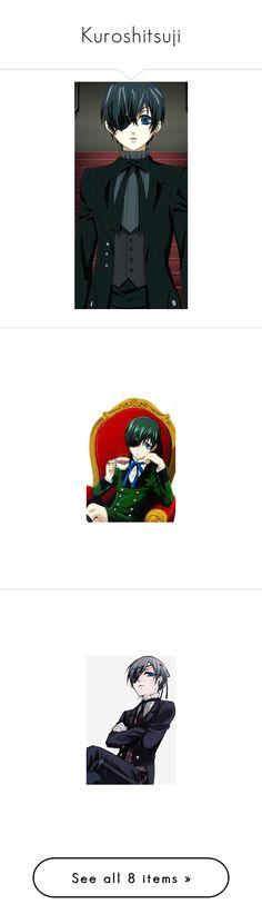 """Kuroshitsuji"" by natasha-maree13 ❤ liked on Polyvore featuring anime and black butler"