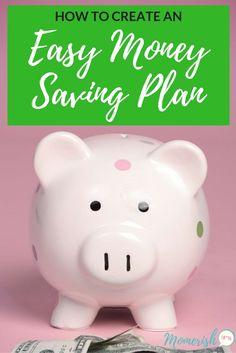 Easy Money Saving Plan - Follow these moving saving tips to develop a plan for your finances! via @keciahambrick